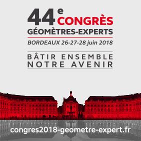 44e congrès de géomètres experts